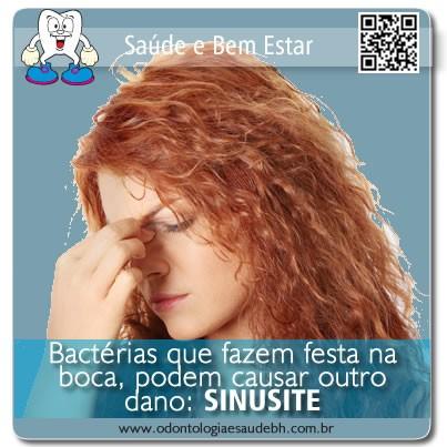 SINUSITE: Bactérias da Boca Podem Migrar e Causar Outros Danos.